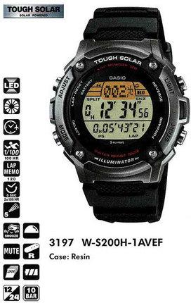 Casio W-S200H-1AVEF