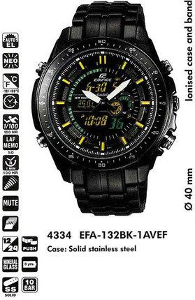 Casio EFA-132BK-1AVEF