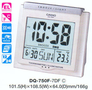 Casio DQ-750F-7DF