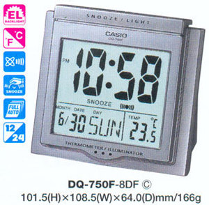 Casio DQ-750F-8DF
