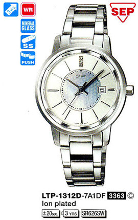 Casio LTP-1312D-7A1DF