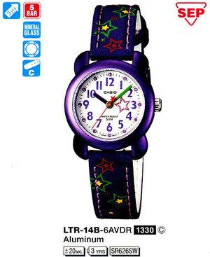 Casio LTR-14B-6AVDF