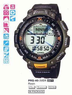Casio PRG-40-3V