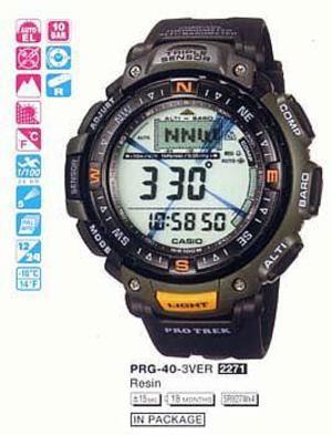 Casio PRG-40-3V