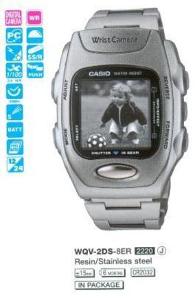Casio WQV-2D-8E
