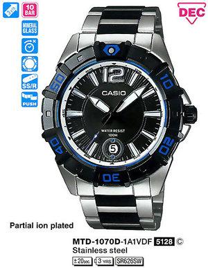 Casio MTD-1070D-1A1VEF