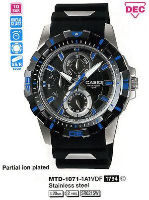 Casio MTD-1071-1A1VDF