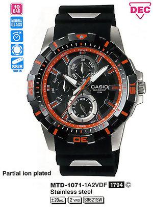 Casio MTD-1071-1A2