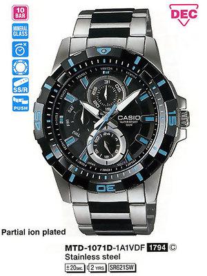 Casio MTD-1071D-1A1VEF