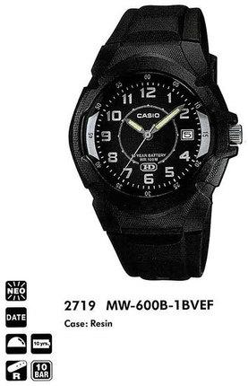 Casio MW-600B-1BVEF