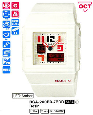 Casio BGA-200PD-7BER