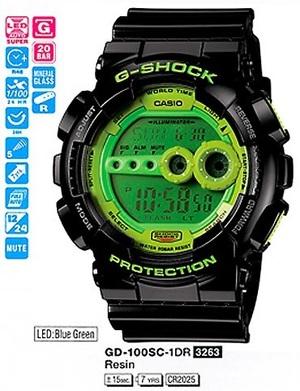 Годинник CASIO GD-100SC-1ER 202615_20130411_370_482_GD_100SC_1E.jpg — ДЕКА