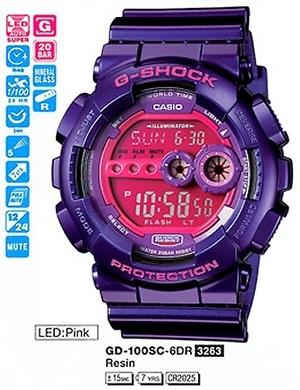 Casio GD-100SC-6ER