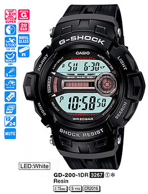 Casio GD-200-1ER