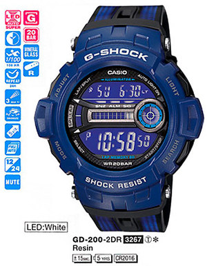Casio GD-200-2ER