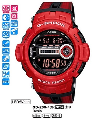 Casio GD-200-4ER