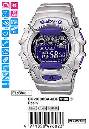 Casio BG-1006SA-8ER