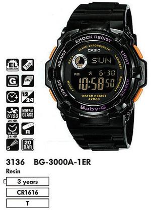 Casio BG-3000A-1ER