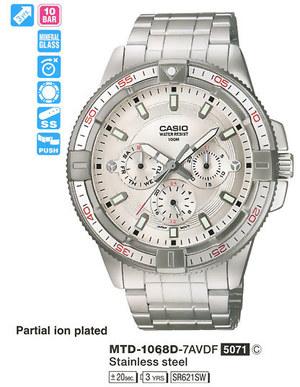 Casio MTD-1068D-7AVDF