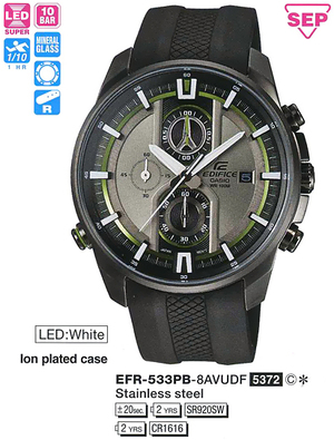Casio EFR-533PB-8AVUEF