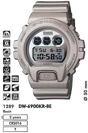 Casio DW-6900KR-8ER