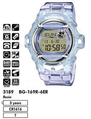 Casio BG-169R-6ER