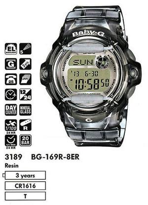 Casio BG-169R-8ER