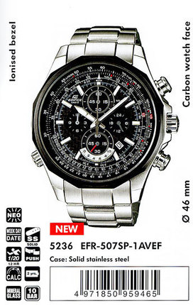 Casio EFR-507SP-1AVEF