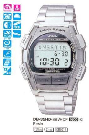 Casio DB-35HD-8B
