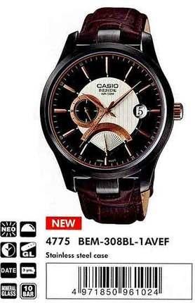 Casio BEM-308BL-1AVEF