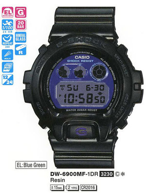 Casio DW-6900MF-1ER