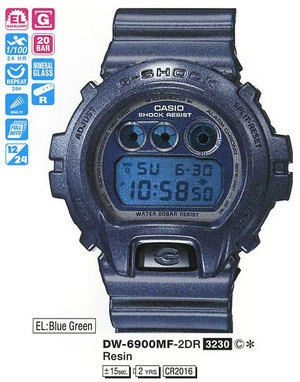 Casio DW-6900MF-2ER