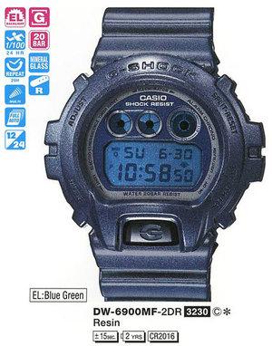 Casio DW-6900MF-2ER