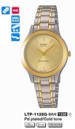 Casio LTP-1128G-9A