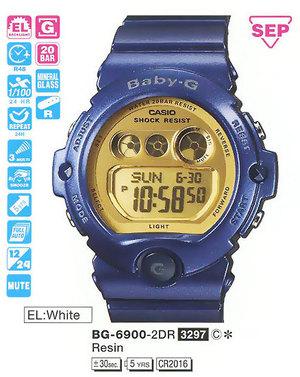 Casio BG-6900-2ER