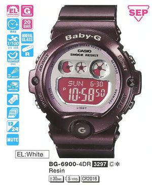 Casio BG-6900-4ER