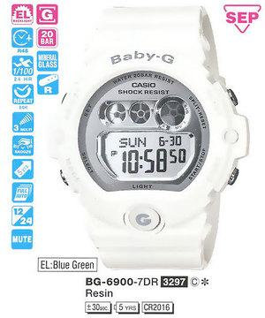 Casio BG-6900-7ER