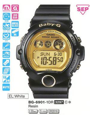 Casio BG-6901-1ER