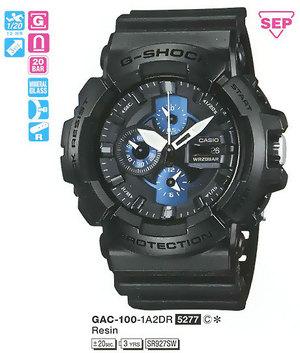 Casio GAC-100-1A2ER