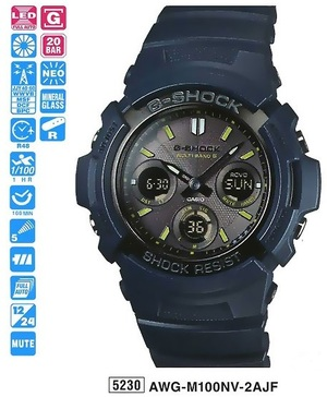 Casio AWG-M100NV-2AER