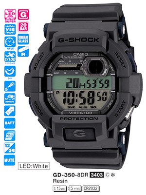 Casio GD-350-8ER