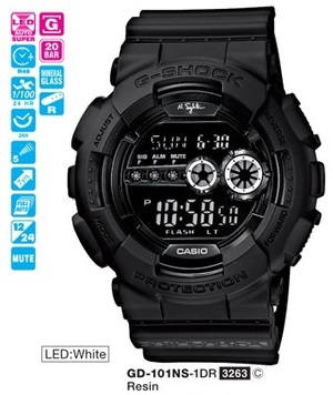 Casio GD-101NS-1ER