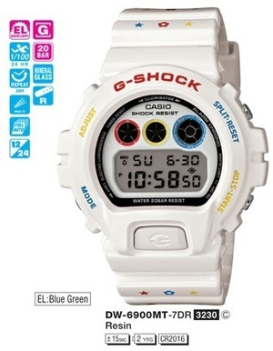 Casio DW-6900MT-7ER