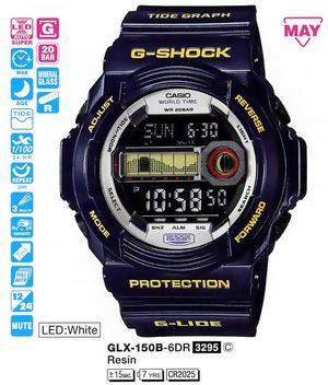Casio GLX-150B-6ER