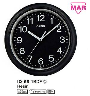 Часы CASIO IQ-59-1BDF