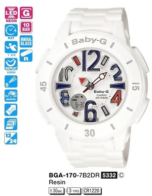 Casio BGA-170-7B2ER