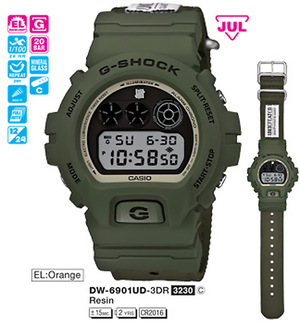 Casio DW-6901UD-3ER
