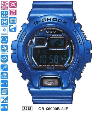 Casio GB-X6900B-2ER