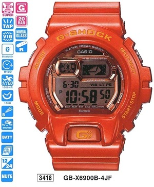 Casio GB-X6900B-4ER