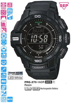 Casio PRG-270-1AER
